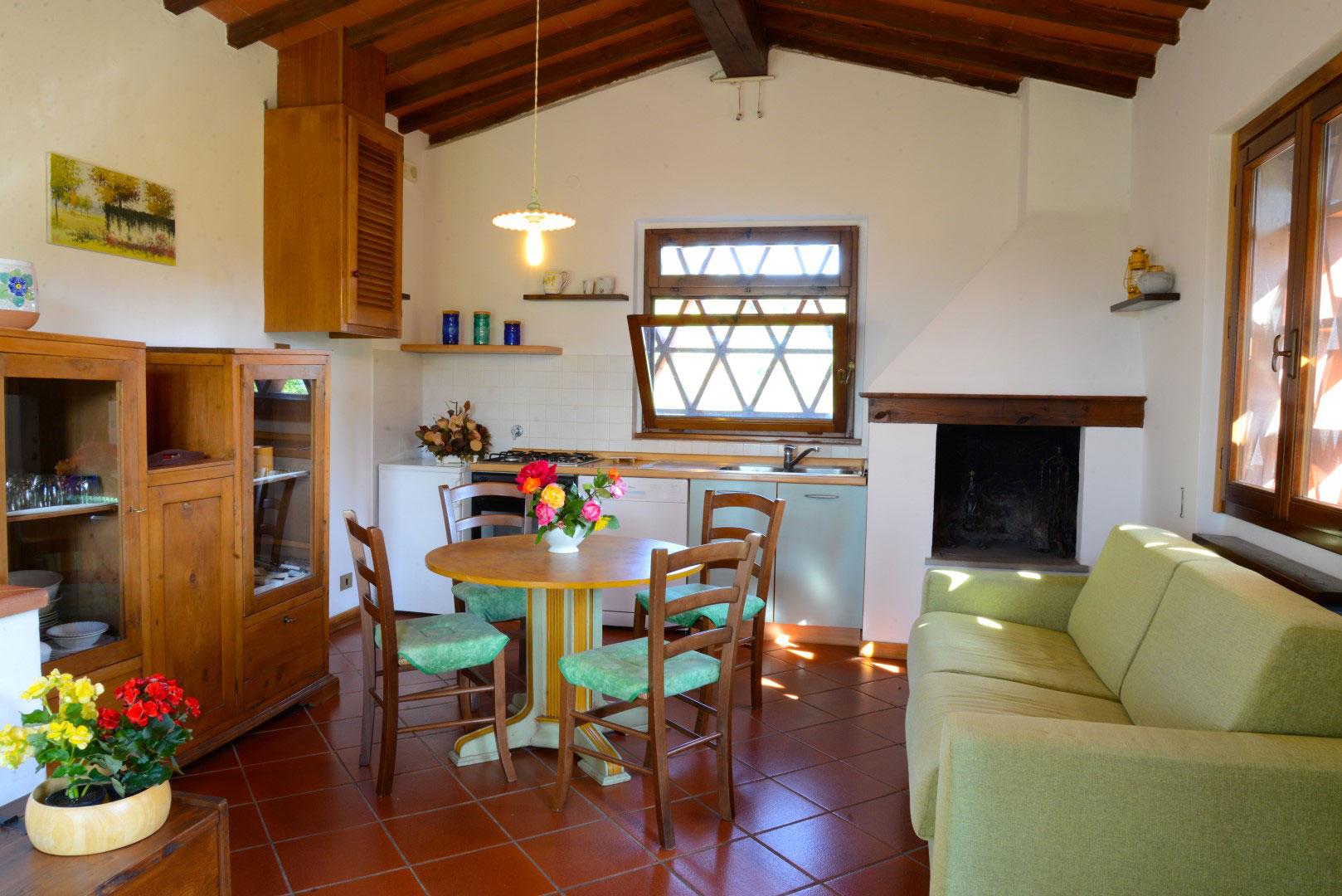 Salotto Da Giardino Con Camino External Design : Idee salotto rustico per il design della casa